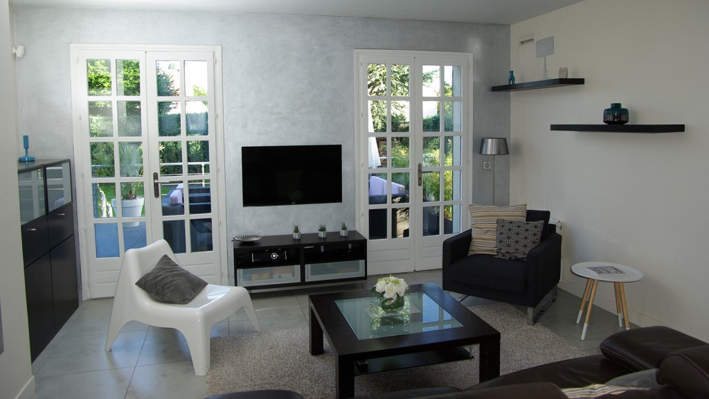 Maison contemporaine yvelines architecture int rieure for Decoration maison annee 70