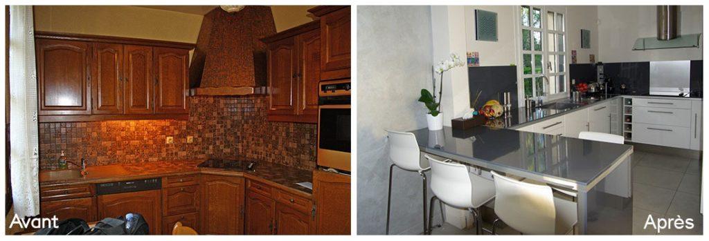 renovation maison avant apres perfect rsultats de recherche duimages pour renovation bungalow. Black Bedroom Furniture Sets. Home Design Ideas