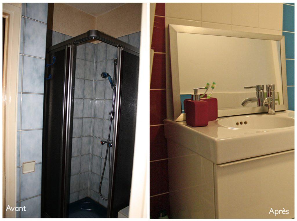 salle de bain maison avant apres