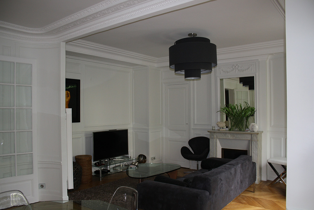 Architecture int rieure appartement haussmannien paris 15 for Conseil architecte interieur gratuit