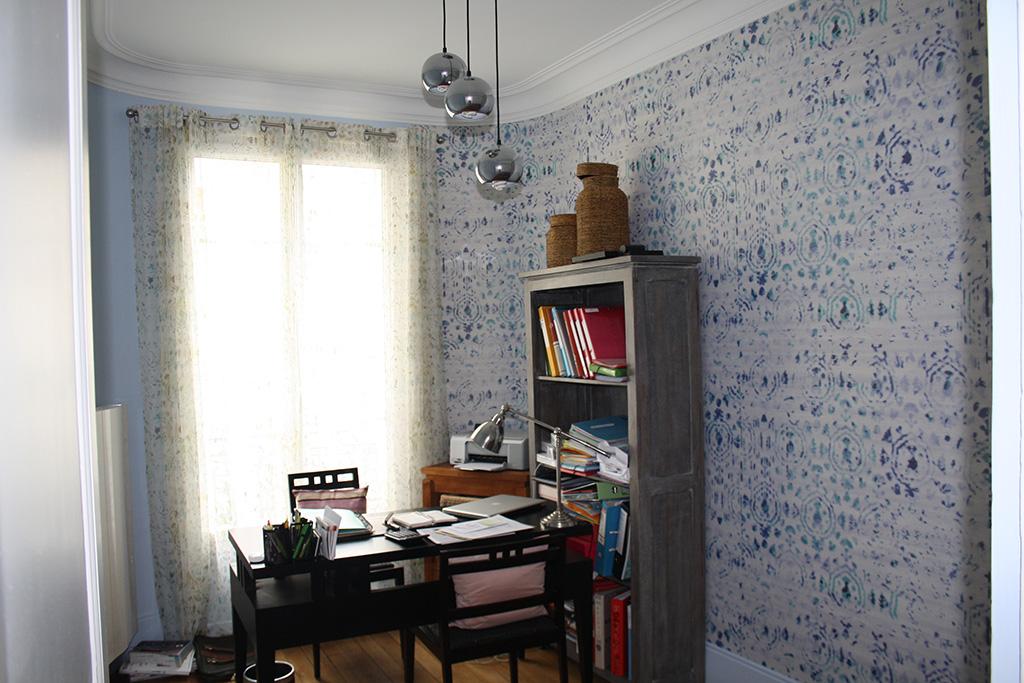Appartement haussmannien paris architecture int rieure for Architecture interieure contemporaine