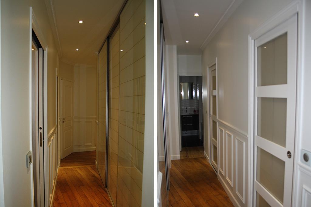 Architecture int rieure appartement haussmannien paris 15 for Architecture interieure contemporaine