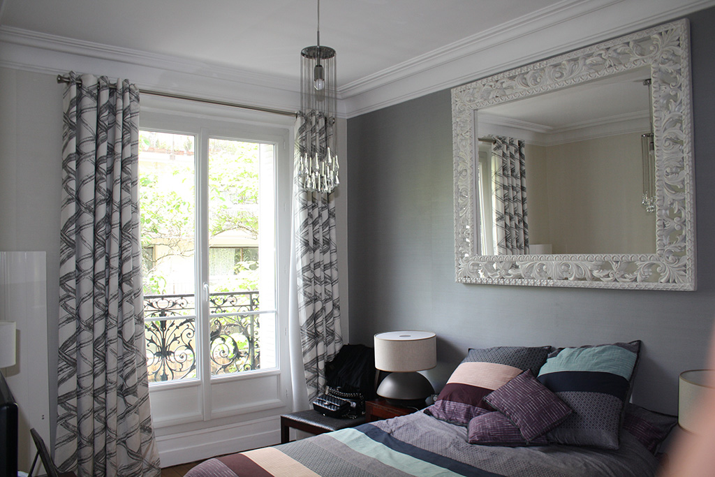 Appartement haussmannien paris architecture int rieure - Decoration appartement haussmannien ...