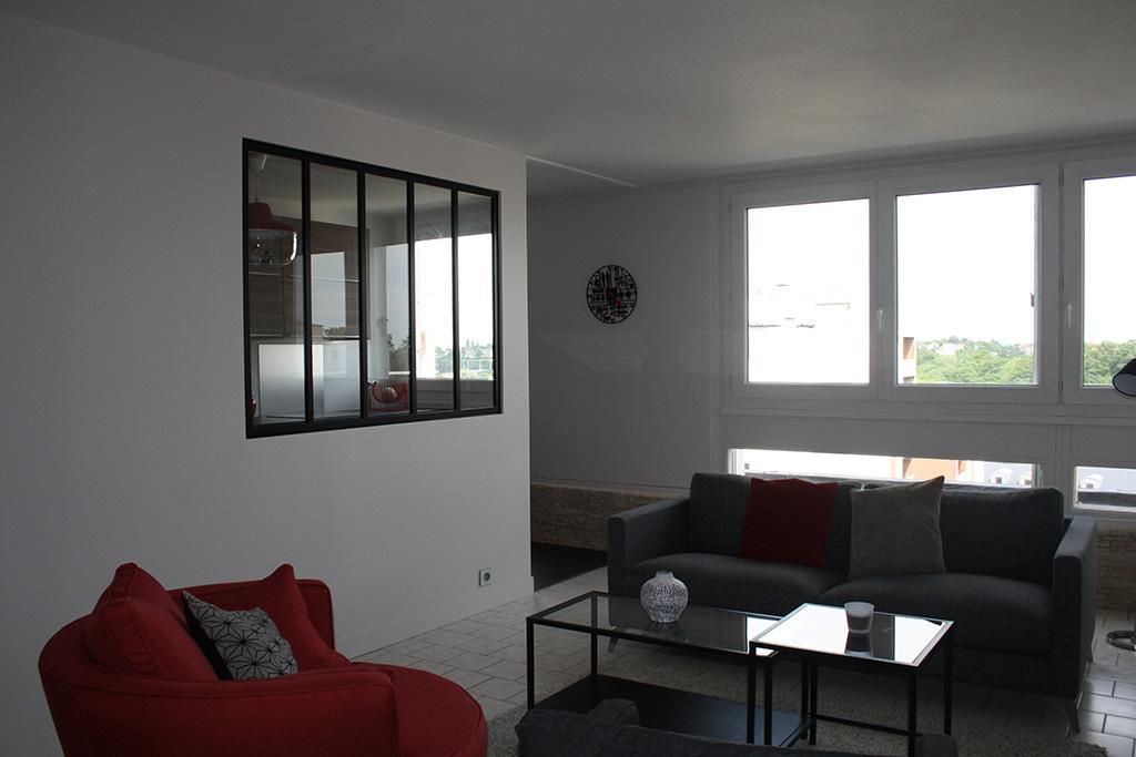 r novation appartement f2 60m andr sy yvelines 78 ao design. Black Bedroom Furniture Sets. Home Design Ideas