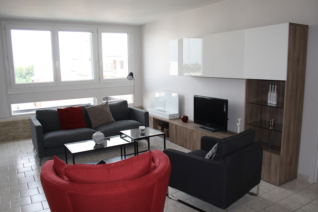 R novation appartement f2 60m andr sy yvelines 78 ao for Renovation appartement design