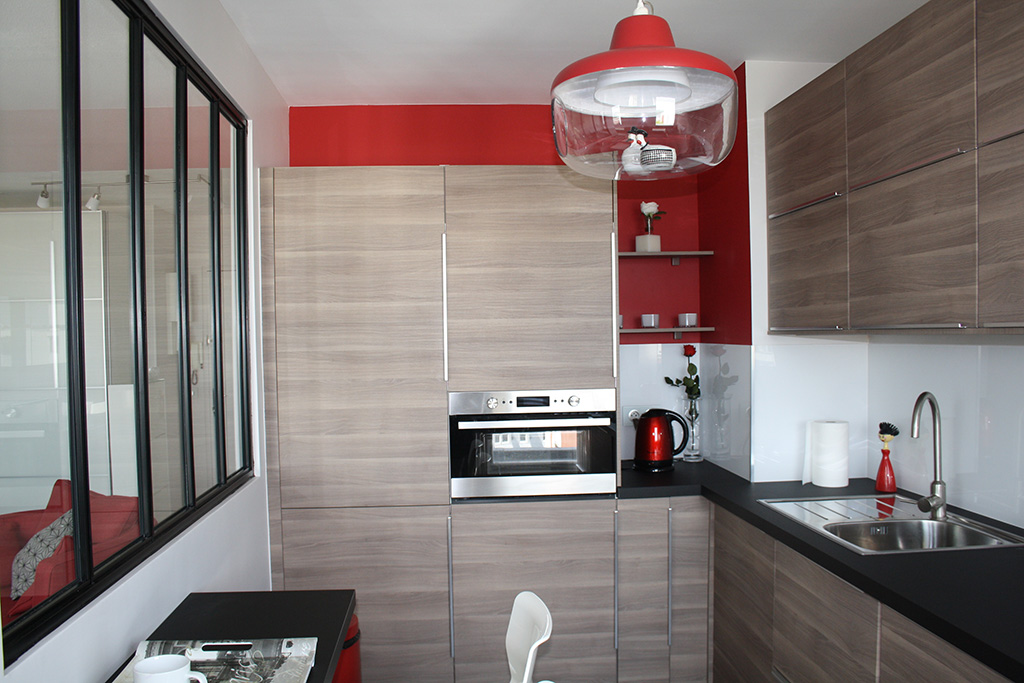 R novation appartement f2 60m andr sy yvelines 78 ao for Decoration d interieur d appartement
