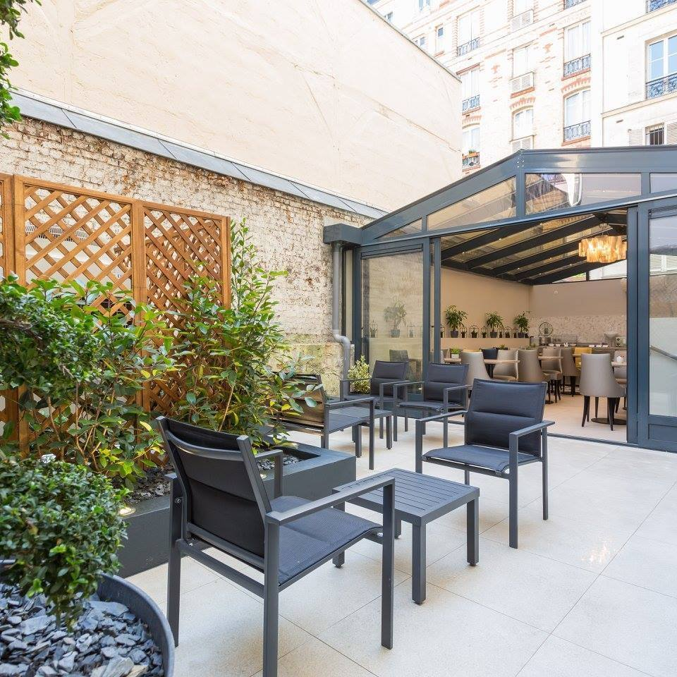 Achitecture int rieure ext rieure h tel 3 paris ao design for Design hotel paris 11