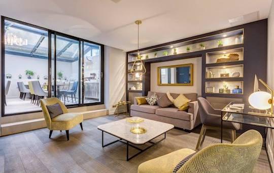 r alisations architecture int rieure paris d coration. Black Bedroom Furniture Sets. Home Design Ideas