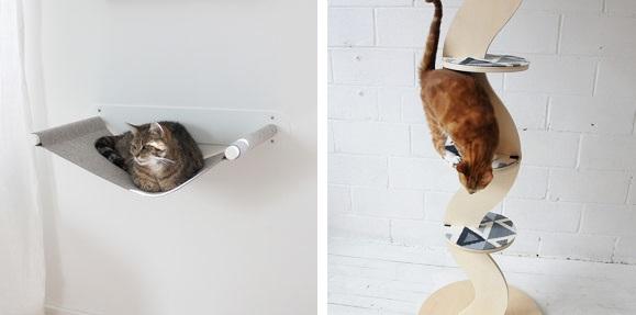 accessoires moderne pour chat