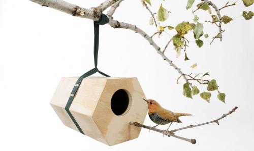 mangeoir à oiseaux design