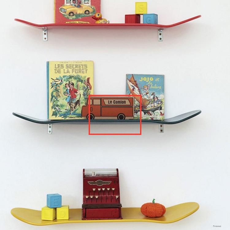 étagère fun chambre enfant
