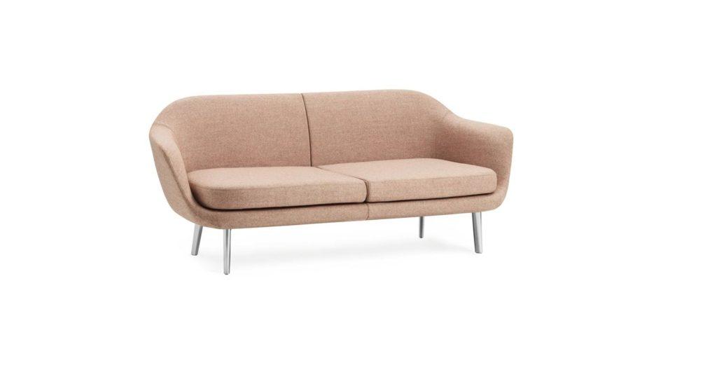 Sum Modular Sofa 2 seater Aluminum1
