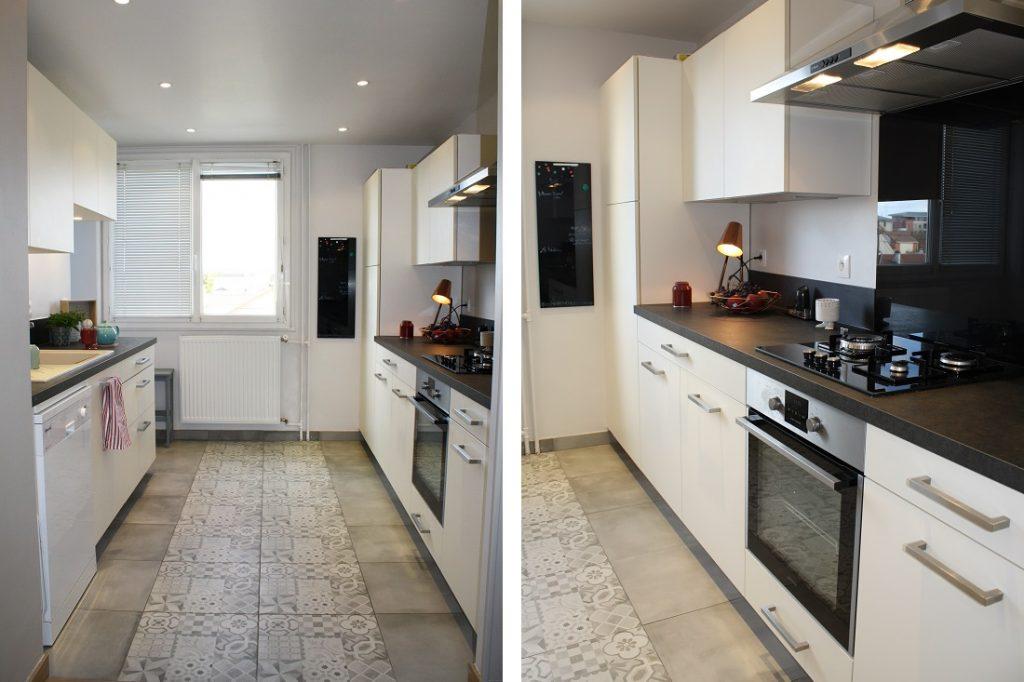 espace cuisine moderne