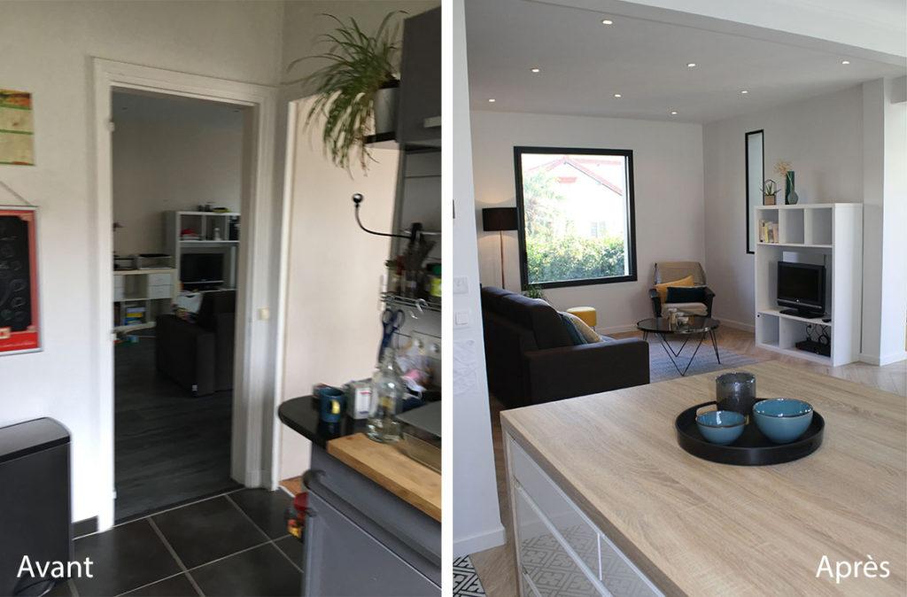 Étonnant Architecture & décoration intérieure maison Chaville 92 | AO Design QO-85