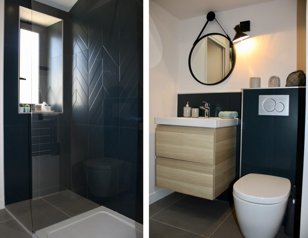 salle de bain rénovation AirBnB