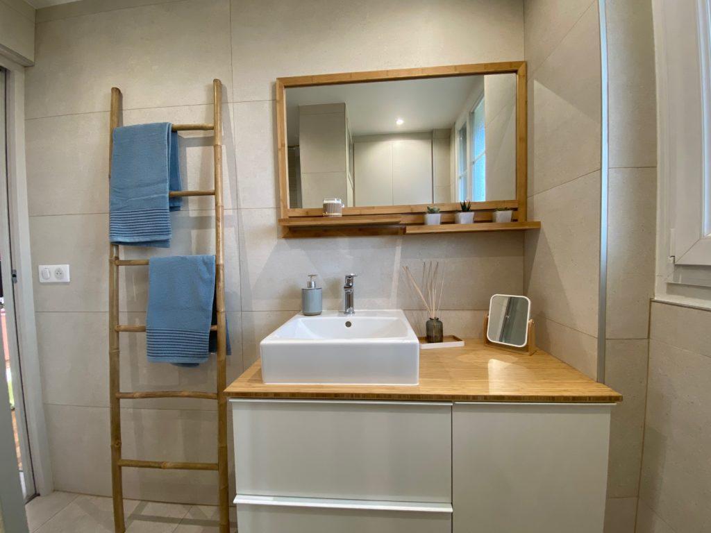 salle de bain pavillon après travaux