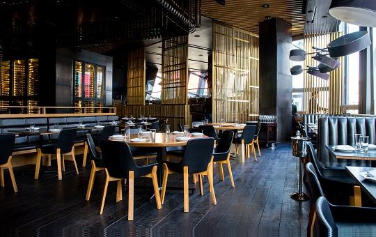 architecture et décoration de restaurant