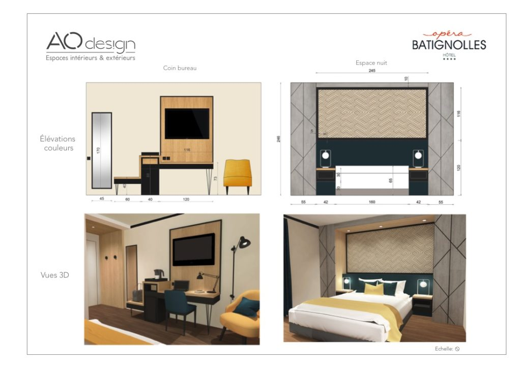 conception meuble sur-mesure vue 3D