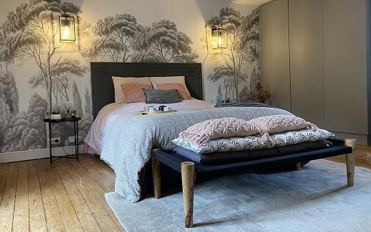 Rénovation chambre parentale Saint Malo